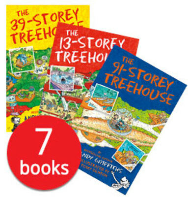 13 Storey Treehouse Collection - 7 Books