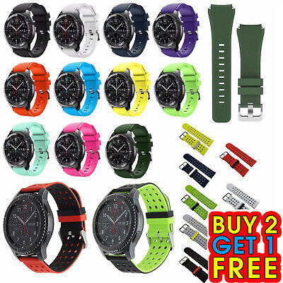 Soft Replacement Silicone Band Strap Bracelet For Samsung Gear S3 Frontier Watch