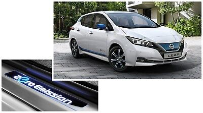 Nissan Leaf 2018 ZE1 EV Premium Design Pack Genuine New IN CHROME OR BLUE