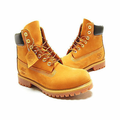NIB Timberland Men's 6 inch Premium Water Proof Work Boots Wheat Pick Size