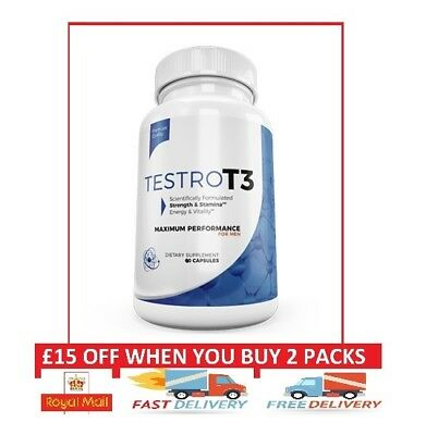Testro T3 Maximum Performance With Tesrtot3 I Free & Fast Shpping