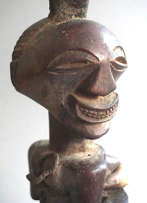 Power figure, Songye, Congo, 20th century, height 34 cm, weight 570 gr