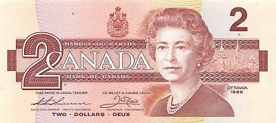 Canada 2 Dollars, 1986, P.94 A.Unc Almost Uncirculated
