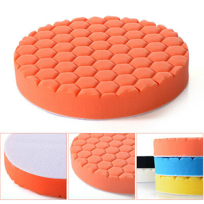 "5Pcs 3/4/5/6/7"" Buffing Sponge Polishing Pad Kit Set For Car Polisher Buffer New"