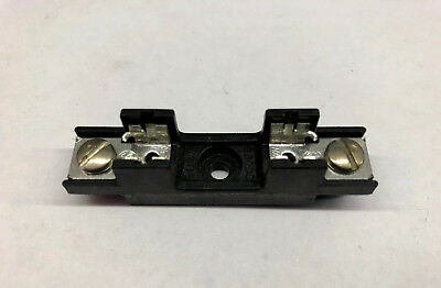 New Bussman S8000 series S8301-1, 1 Pole Fuse Block for 3AG Glass or Ceramic