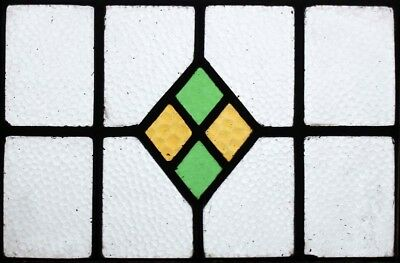 Art Deco English Stained Glass Window