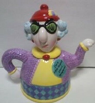 Hallmark Maxine Teapot Ceramic Multi-Color I'm a Little Teapot Short Tempered
