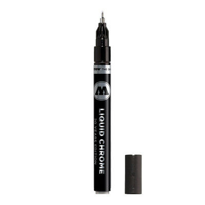 Molotow Liquid Chrome Marker 1mm refillable pump by Chartpak made in Germany