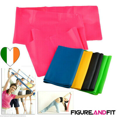 Resistance Bands Fitness Physio Theraband Yoga Exercise Training bands 1.5m(L)