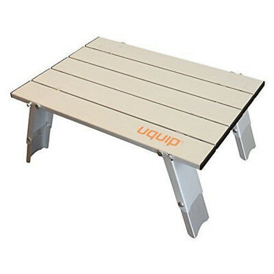 Handy Folding Roll Up Micro Side Table for Camping, Picnic, Outdoor by Uquip