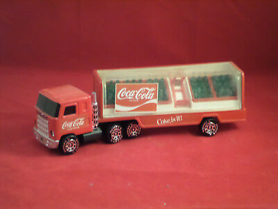 Coca Cola delivery semi truck