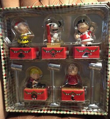 2017 Hallmark Peanuts Christmas Dance Party Red Special Edition, Lights New