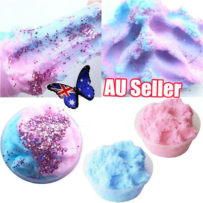 Fairy Floss Cloud Slime 50g Reduced Pressure Mud Stress Relief Kids Clay Toy BK