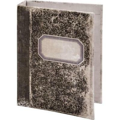 Tim Holtz Idea-ology Worn 2-Ring Binder - Notebook Printed Fabric Cover TH93588