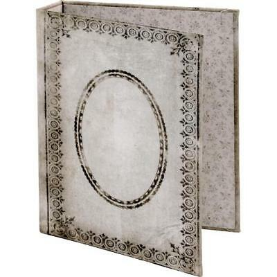Tim Holtz Idea-ology Worn 2-Ring Binder - Tattered Printed Fabric Cover TH93589