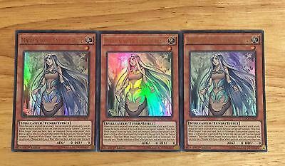 3 X Ldk2-Enk06 Maiden With Eyes Of Blue Ultra Rare 1St Ed Mint Playset