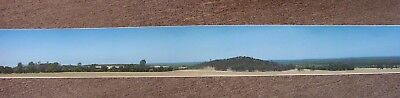 "Haskell HO or N scale ""Dry Country"" vinyl Backscenes A & B pair 180 x 18cm."