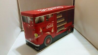 Coca Cola Coke Red Delivery Truck Cookie Jar 1997 Edition By Golden Harvest Inc.