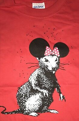 Banksy Print Official Dismaland Bemusement Park Collectables T-shirt Walled Off