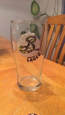 Limited Edition Brooklyn Lager Beer Glass