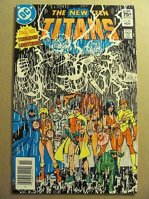 New Teen Titans #36 DC Comics Canadian Newsstand $0.75 Price Variant 9.2 NM-