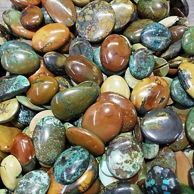 500 CT Turquoise 100% Natural Mixed Shape Rare Quality Wholesale Lot A+ Gems PL