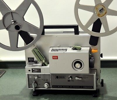 Elmo St-1200Hd Super 8, 2 Track Sound Movie Projector Serviced