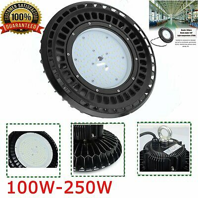 250W 150W 100W UFO LED High Bay Light Factory Warehouse  Industrial lamp MAA