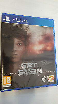 Gioco Get Even Per Playstation 4 Ps4 Italia Nuovo Game Videogame