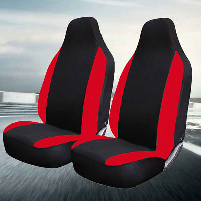 Hobby750 Lhd Motorhome Deluxe Red Racing Car Seat Covers 1+1