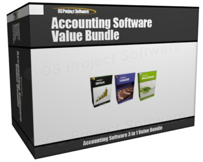 Value Bundle - Home Accounting Bookkeeping Personal Finance Software