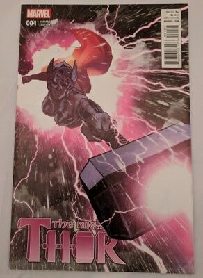 Mighty Thor #4 VF/NM 1:50 Adam Hughes Variant Marvel Comics Jason Aaron 2016
