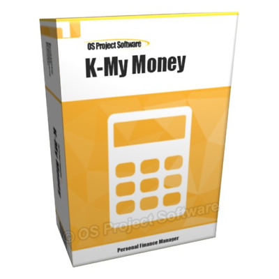 K-My Money Accounting Business & Personal Finance Software for Home Users