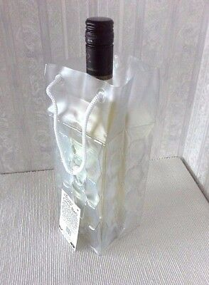 Gel Filled Wine Bottle Chill/cool Bag - *freezable*folds Flat*unused*excl.cond*