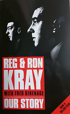 Our Story - Reg & Ron Kray - Fred Dinenage - The Krays - New Paperback