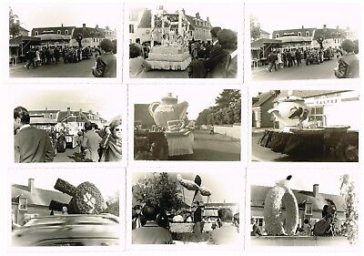 Lot 22 Anciennes Photos Cavalcade Chatelus Malvaleix Creuse 1964 / 1965