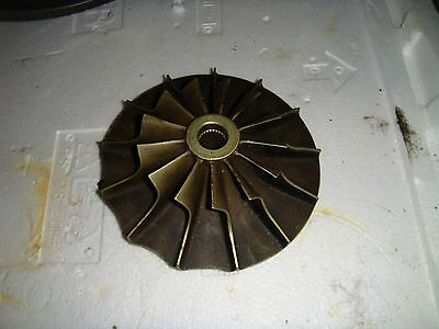Turbine Jet Engine impeller from Plessey Dynamics Solent