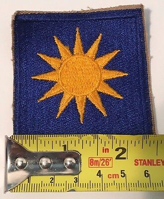 WW2 US ARMY 40TH INFANTRY DIVISION Shoulder PATCH WWII SUN