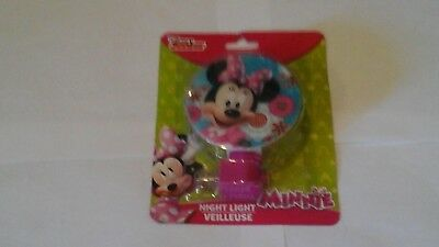 Pink Minnie Mouse Club House night light