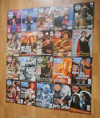 Doctor Who Magazine 200 - 300: Excellent Condition