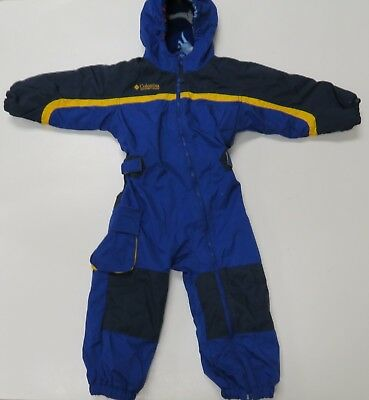 e301f005 Columbia Kids Snowsuit Toddler 3T Snow Pant Suit Boy Girl Jacket Coat Blue  1 pc