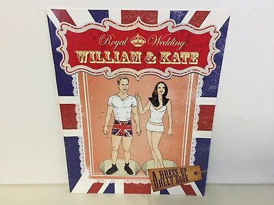 William and Kate. Royal Wedding Dress-up Dolly Book.