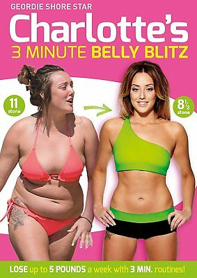 Charlotte Crosby's 3 Minute Belly Blitz [DVD] [2014] Charlotte Crosby