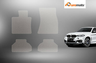 Puremats Heavy Duty Crystal Clear Floor Mats For 2014-2019 BMW X6