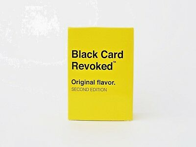 Black Card Revoked 2 - Original Flavor Family Home Game Free Shipping