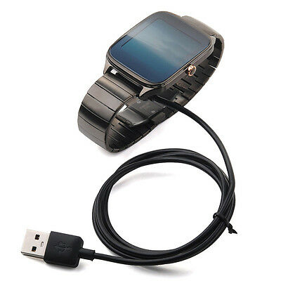 For ASUS ZenWatch 2 WI501Q Smart Watch USB Adapter Charger Cord Charging Cable