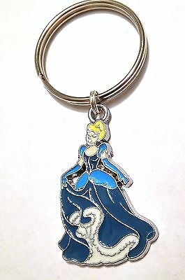 CINDERELLA Key Chain - Large Excellent Quality Enamel Charm US Seller FREE SHIP