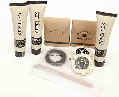 Appelles Apothecary & Lab Travel Size Shampoo, Conditioner, Soap, Toiletries NEW