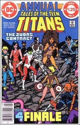 DC Comics: Tales of the Teen Titans Annual #3 (1984)  VF