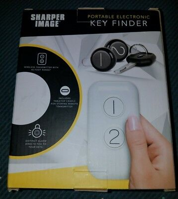 Sharper Image Portable Electronic Key Finder [New]